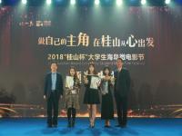 """2018""""桂山杯""""大学生海岛微电影节颁奖典礼"""